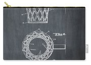 Basketball Net Patent 1951 In Chalk Carry-all Pouch