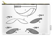 Basketball Patent 1916 Carry-all Pouch