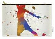 Basketball Player Paint Splatter Carry-all Pouch
