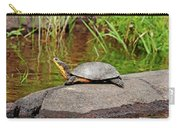 Basking Blanding's Turtle Carry-all Pouch
