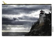 Bass Harbor Lighthouse In Acadia Np Carry-all Pouch