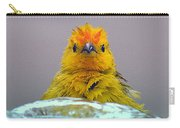 Bath Time Finch Carry-all Pouch