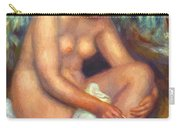 Bather Wiping A Wound 1909 Carry-all Pouch