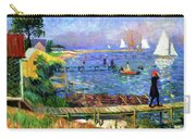 Bathers At Bellport Carry-all Pouch