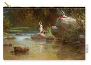 Bathers At The River. Evening In Orinoco? Carry-all Pouch