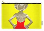 Bathing Beauty Red Suit Painting Carry-all Pouch