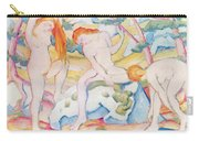 Bathing Girls Carry-all Pouch