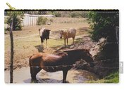 Bathing Horse Carry-all Pouch