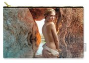 Bathing Maiden Carry-all Pouch