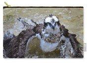Bathing Osprey Bird Splashing About Carry-all Pouch
