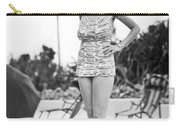 Bathing Suit Made Of Currency Carry-all Pouch
