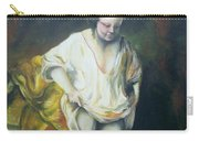 Bathing Woman Carry-all Pouch