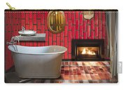 Bathroom Retro Style Carry-all Pouch
