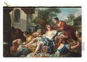 Bathsheba At Her Bath Carry-all Pouch