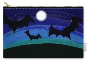 Bats At Night Carry-all Pouch