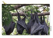 Bats Hanging Out Carry-all Pouch