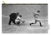 Batter Swings Strike At Home Plate Carry-all Pouch