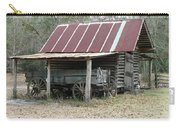 Battered Barn And Weathered Wagon Carry-all Pouch