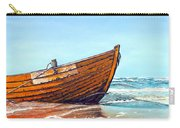 Battered By The Sea Carry-all Pouch
