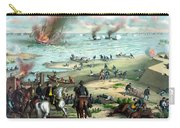 Battle Between The Monitor And Merrimac Carry-all Pouch