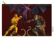 Battle Of Good Vs Evil Carry-all Pouch