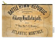 Battle Hymn Of The Republic Carry-all Pouch