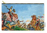 Battle Of Agincourt Carry-all Pouch
