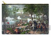 Battle Of Chancellorsville - Death Of Stonewall Carry-all Pouch