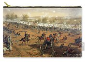 Battle Of Gettysburg Carry-all Pouch by Thure de Thulstrup