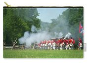 Battle Of Monmouth-redcoats Carry-all Pouch