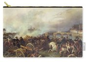 Battle Of Montereau Carry-all Pouch by Jean Charles Langlois