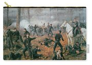 Battle Of Shiloh Carry-all Pouch by T C Lindsay