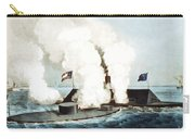 Battle Of The Monitor And Merrimack Carry-all Pouch
