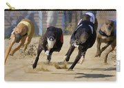 Battle Of The Racing Greyhounds At The Track Carry-all Pouch