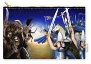 Battle Under The Stars Carry-all Pouch