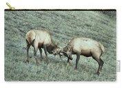 Battling Elk Carry-all Pouch