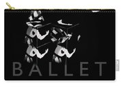 Bauhaus Ballet Black Carry-all Pouch by Charles Stuart
