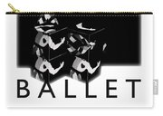 Bauhaus Ballet Poster Carry-all Pouch by Charles Stuart