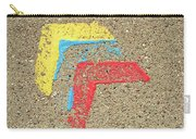 Bauhaus Symbol Paving Stone Carry-all Pouch