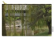 Bavarian Covered Bridge Over The Cass River Frankenmuthmichigan Carry-all Pouch