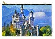 Bavaria's Neuschwanstein Castle Carry-all Pouch