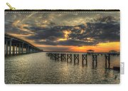 Bay Bridge Sunset Carry-all Pouch