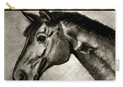 My Friend The Bay Horse Carry-all Pouch