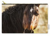 Bay Stallion Of Piceance Basin Carry-all Pouch