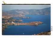 Bay View On Patmos Island Greece Carry-all Pouch