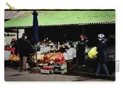 Bazaar On The Outskirts Of A Small Town Carry-all Pouch