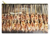 Bbq Asian Grilled Squid In Kep Market Cambodia Carry-all Pouch