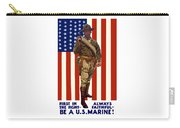 Be A Us Marine Carry-all Pouch