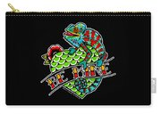 Be Mine Panther Chameleon Carry-all Pouch