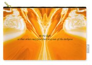 Be The Light - Josea Golden Carry-all Pouch